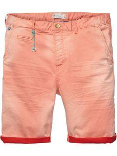 Slim fit chino shorts | Short pants | Men Clothing at Scotch & Soda