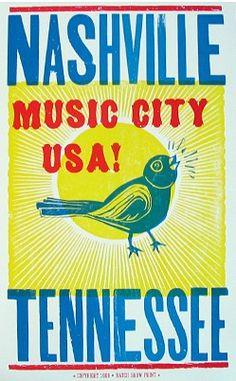 Nashville Hatch print