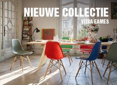 Vitra Stoel Wit : Beste afbeeldingen van vitra eames collectie chairs dining