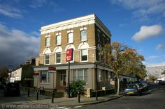 Shaun Of The Dead (2004). Monson Road at Barlborough Street, New Cross Gate, London SE14. The Winchester is no more. Although Shaun (Simon Pegg) lives at Crouch End in North London, his 'local' pub – 'The Winchester Arms' – was south of the Thames in New Cross Gate. It used to be the Duke of Albany, but it's gone the way of so many traditional London boozers – closed down, remodelled and converted into flats.