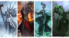 The Four Horsemen - Wallpaper by *theDURRRRIAN on deviantART  One of these days I'm going to have to write a story about some less... 'evil' characters...  One of these days.  Thankfully today is not that day.