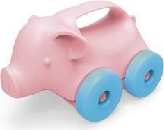 Green Toys Pig Push Toy Schweinchen