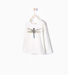 ZARA - KIDS - Dragonfly print T-shirt