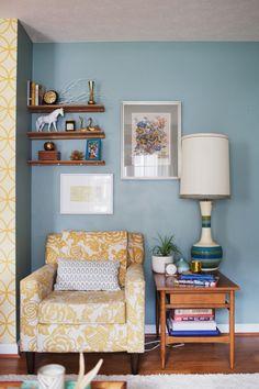 corner of bedroom by window??
