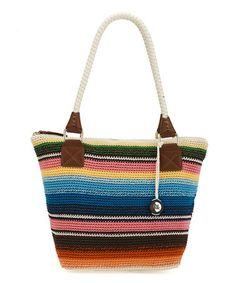 Look what I found on #zulily! Sarape Stripe Cambria Crocheted Tote by The Sak #zulilyfinds