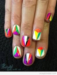 Resultado de imagen para nail art geometrico