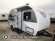 HaylettRV.com - 2016 Winnebago Minnie Drop 1780 Ultralite Tear Drop Travel Trailer - YouTube