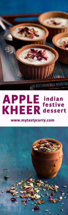Apple kheer is delicious Indian dessert made with apples and milk. In recipe of I improvised the traditional apple kheer by adding a thandai spice which adds a delicious nutty taste and rose petals add exotic touch as well as delicate touch. Kheer is essentially an Indian sweet which is nothing but thickened milk flavoured with traditional flavours like cardamom, saffron, or thus etc. To add the texture you can also add dry fruits and nuts which make the kheer even more rich. I distinctly…