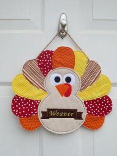 Turkey Door Hanger- Custom