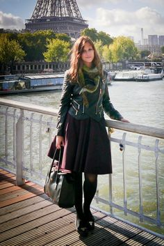 Biotechnology's Wardrobe: 215. La Parisienne & A-line skirt