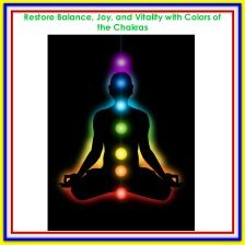 Special Event at the Seasoned Woman on April 19, 2018 Restore Balance, Joy, and Vitality with Colors of the Chakras https://www.nancyandreswriter.com/