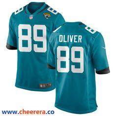 Jacksonville Jaguars #89 Josh Oliver Draft Game Jersey - White
