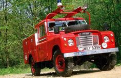 Fotka: Land Rover Series III 109 Fire truck, 1976