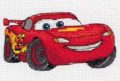 Lightning McQueen Counted Cross Stitch Kit