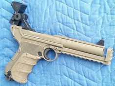 Another of the tactical Luger