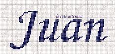 Un nombre corto pero muy versátil, espero les guste. Me dio por poner la firma de la cute en el tipo de letr... Name Art, Cross Stitch Designs, Fabric Patterns, Pixel Art, Tapestry, Dio, Levis, Ideas, Cross Stitch Letters