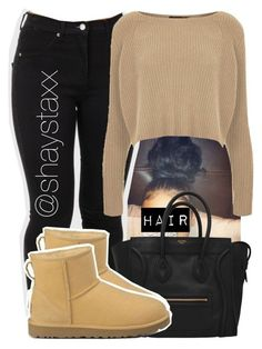 002 by shaystaxx ❤ liked on Polyvore featuring Topshop and UGG Australia