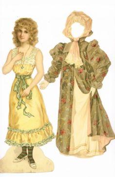 Anziehpuppen um 1900