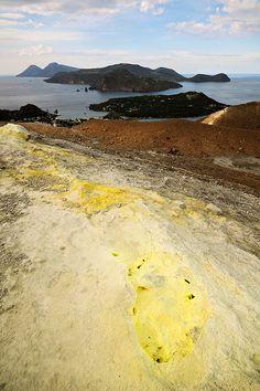 Vulcanello - Lipari - Salina - Aeolian Islands - Sicily   by PascalBoegli.com