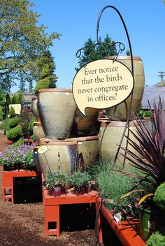 Signage – Lawn & Garden Retailer Summer Garden, Lawn And Garden, Urban Landscape, Landscape Design, Garden Center Displays, Garden Centre, Petal Pushers, Garden Quotes, Garden Shop