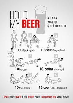 Fun Workouts for all levels