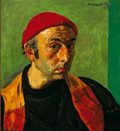 Self-Portrait, 1964, by Alberto Morrocco (Scottish, 1917-1998)