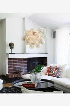 By Rydéns Gross taklampa Amber - Belysning - Homeroom. Lamp Inspiration, Penthouse Apartment, Interior Decorating, Interior Design, Classic Interior, Interior Exterior, Accent Chairs, Ceiling Lights, Living Room