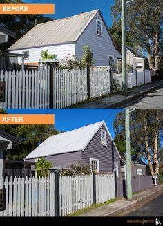 #facade #renovation #outdoorliving See more exciting projects at: www.renovatingforprofit.com.au Before After Photo, Outdoor Living, Outdoor Decor, Flipping, Home Remodeling, Facade, Cabin, House Styles, Board