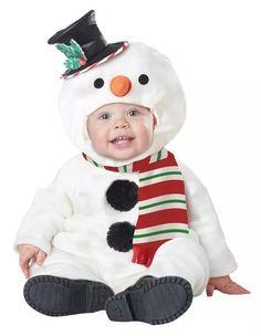 disfraz navidad ayudante de santa bebe pino angel duende