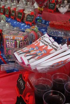Beyblade Birthday Party Ideas | Photo 2 of 68 | Catch My Party