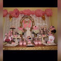 Minnie Mouse  Birthday Party Ideas   Photo 1 of 8