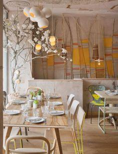 Mama Campo restaurante mesa para ocho