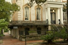 House on Monterey Square, Savannah.