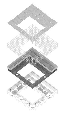 Istanbul Community Market Competition - Ctrl+Space Architectural Competitions