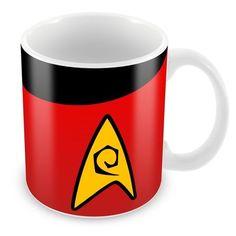 Caneca Porcelana Personalizada Star Trek Engenharia