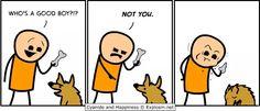 No bone for you