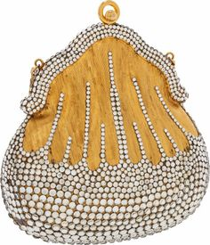Judith Leiber Early Design Chatelaine Minaudiere Evening Bag Very Good Condition Width x - Available at 2013 April 28 Handbags & Luxury. Couture Accessories, Handbag Accessories, Vintage Purses, Vintage Handbags, Unique Purses, Beaded Purses, Judith Leiber, Fashion Handbags, Evening Bags