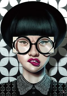 Our artists: Giulio Rossi - Optical - www.customly.com