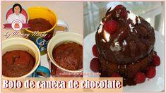 Bolo de caneca de chocolate aniversário | Culinária Brilhante Nancy Neide
