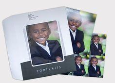 Upgraded portrait envelopes from Miller's Schools