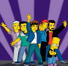 "N'Sync | 66 Musicians Who Played Themselves On ""The Simpsons"""