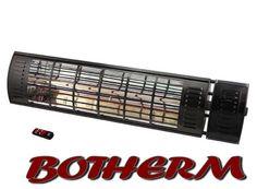 De B2000 RCD inclusief dimmodule en afstandsbediening is een infrarood terrasverwarmer voor ruim 15 m2