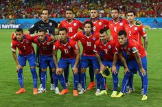 FIFA World Cup 2014 - El equipo titular de Chile Mundial Brasil 2014