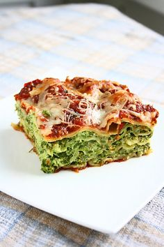 Spinach & Ricotta Lasagna by collectingmemories #Lasagna #Spinach #Ricotta
