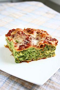 Spinach & Ricotta Lasagna by collectingmemories #Lasagna #Spinach #Ricotta