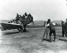 Movie Making At Demille Airfield