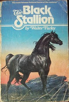 The Black Stallion by Walter Farley, 1941 12 Classic Wilderness Survival Chapter Books Worth Revisiting Horse Racing Books, Horse Books, Horse Movies, Animal Books, I Love Books, Great Books, Books To Read, Ya Books, Comic Books