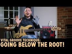 Vital Groove Technique: Going BELOW the Root! (L#162) - Online Bass Lessons