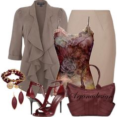"""Happy Hour Friday"" by arjanadesign on Polyvore"