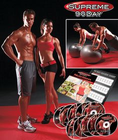 Supreme 90 Day™ 10-DVD System is an awesome workout!! - Hear this is just as good as Insanity or P90X, without the crazy high price tag. Hmmmmm...